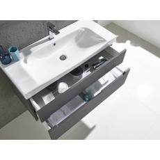 Diverge 1000mm Wall Mounted Unit Including Ceramic Basin
