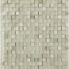Cotes Wood Glass/Stone Mix Mosaic 15x15mm