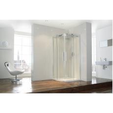 Aquaglass+ Frameless 2 Door Quad Shower Enclosure