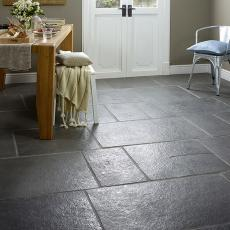 Ardea Grey Sandblasted & Brushed Limestone Floor 600x300mm