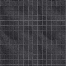 The Tile Collection Embossed Black Slate Small Gloss