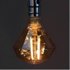 4W COB Antik Diamond LED Filament Bulb