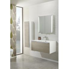Vista 900mm Wall Mounted Unit Including Isocast Basin