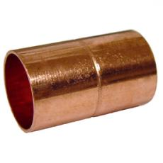 Copper 15mm EndFeed Coupler - Pack 25 - WRAS APPROVED