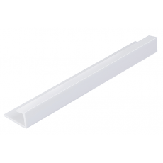 End Cap 8.5mm - White