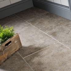 Falconara Brown Tumbled Limestone W&F 400x700mm