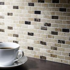 Ribeira Polished Marble Mosaic 15x32mm