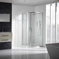 Aquaglass+ Sleek Quad Shower Enclosure