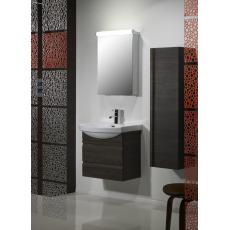 Profile 600mm Wall Mounted Unit Including Ceramic Basin