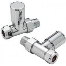 Straight standard Radiator Valves
