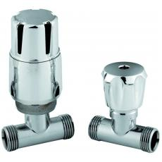 Straight Thermostatic Radiator Valves