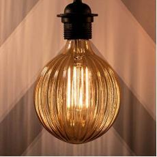 4W COB Antik Globe LED Filament Bulb