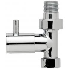 Straight Minimalist Radiator Valves