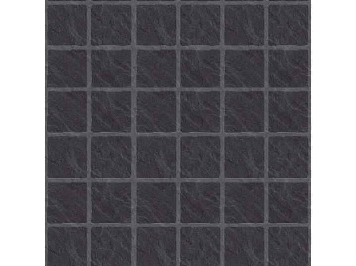 The Tile Collection Embossed Black Slate Large Matt image