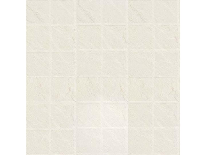 The Tile Collection Embossed White Slate Large Matte image