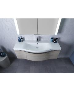 Serif 1200mm Wall Mounted Unit Including Isocast Basin