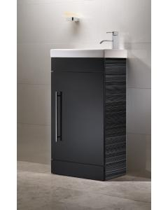 Esta 450mm Cloakroom Unit Including Ceramic Basin