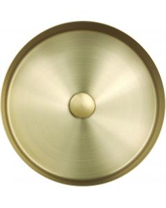 VOS Brushed Brass Grade 316 Stainless Steel Counter Top Basin