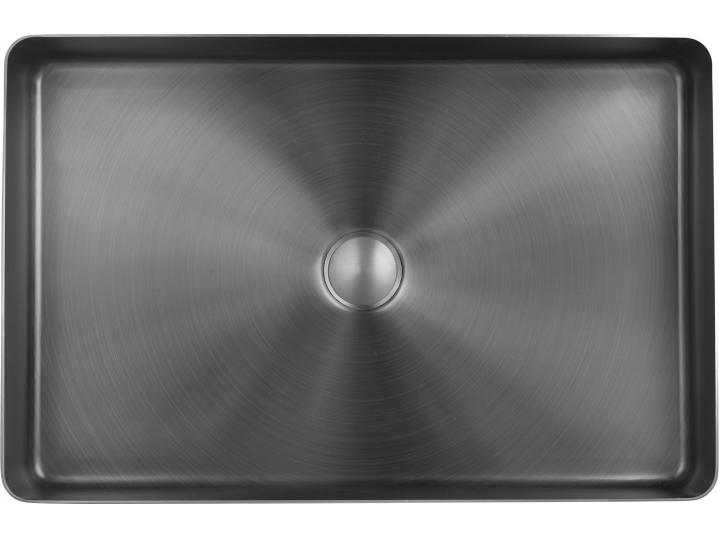 VOS Grade 316 Stainless Steel Counter Top Basin Brushed Black 2 image