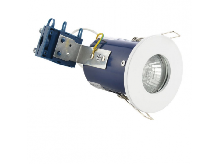 Firerated Shower Downlight Chrome image