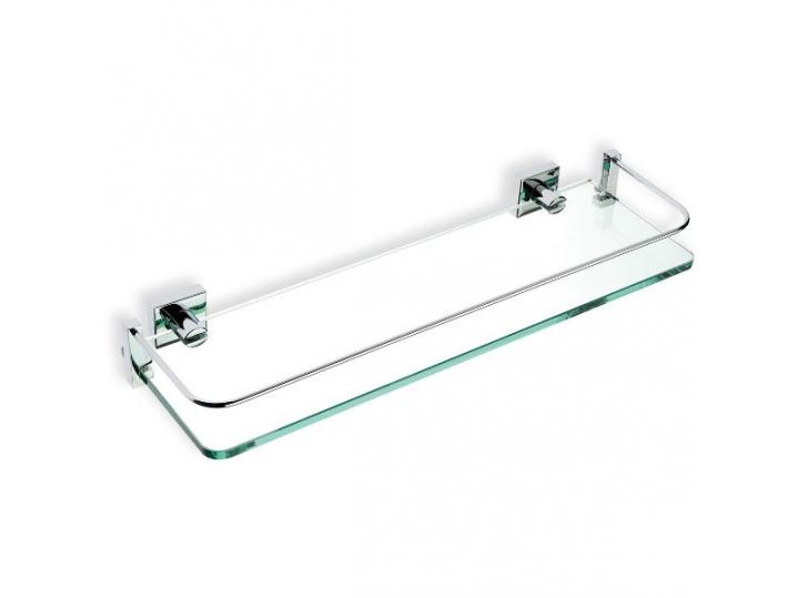 Lissi 400cm Glass Shelf - Chrome image
