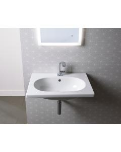 Theme 610mm Wall Mounted Basin