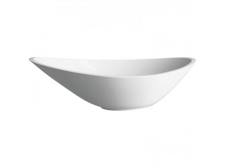 Elemi Sit-On Countertop Basin 564mm - White image