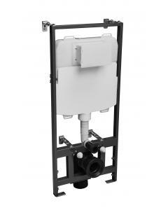 1.17m Wall Hung WC Frame 6/3L Flush