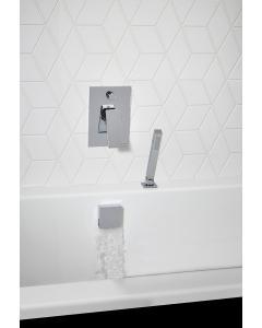 Elate Square Smartflow Bath Filler