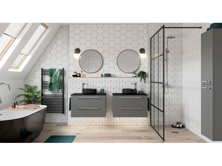 Morina Wall Hung 2-Drawer Vanity Unit 790 image