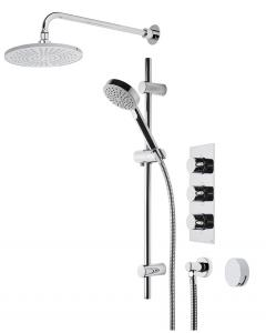 Event Round Triple Function Shower System