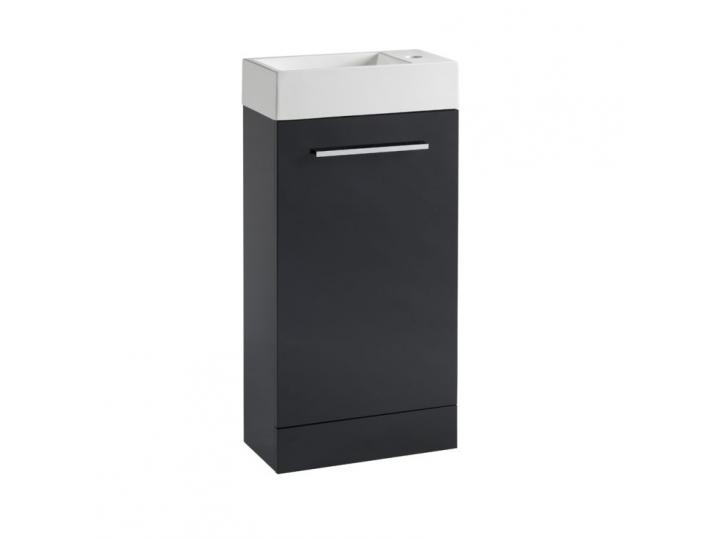 Britta Freestanding Cloackroom Pack - Anthracite image