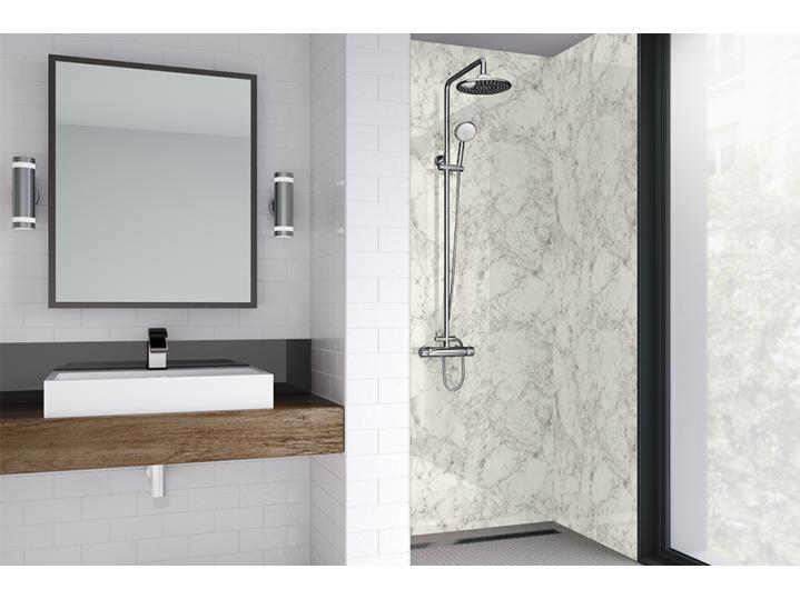 Wetwall Laminate - Natural Collection - White Statuario image