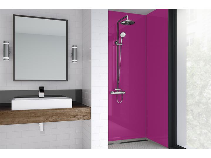 Wetwall Laminate - Botique Collection - Fuchsia Gloss image