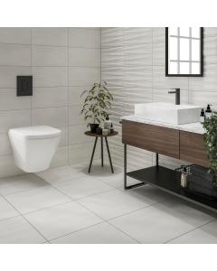 Montesa White Matt 500x500mm Porcelain Wall & Floor Tile