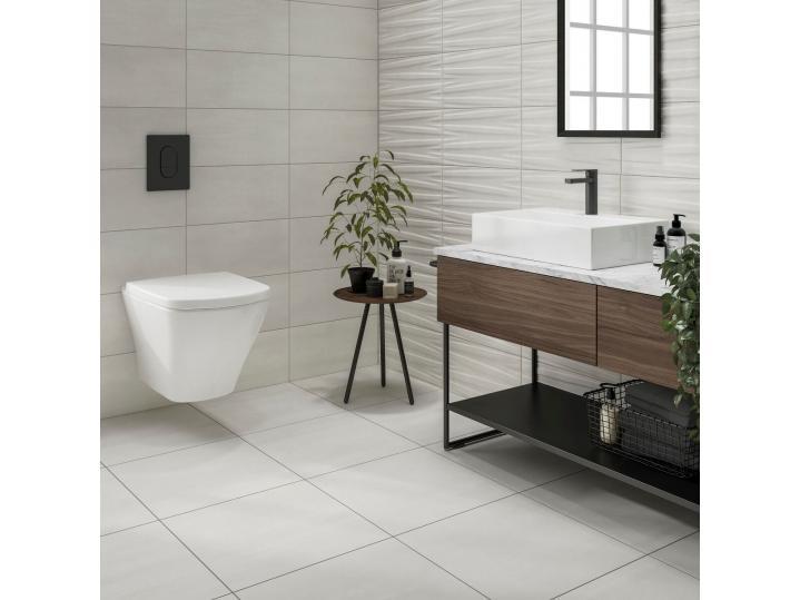 Montesa White Matt 500x500mm Porcelain Wall & Floor Tile image