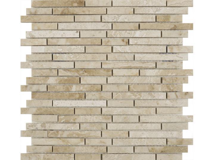 Vinalesa Cream Polished Marble Mix Length Mosaic image
