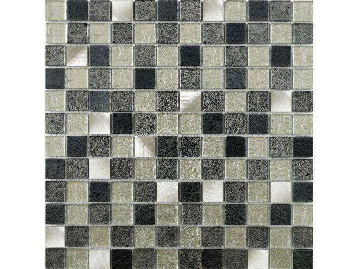 Andilla Fusion Glass/Metal Mix Mosaic 23x23mm image