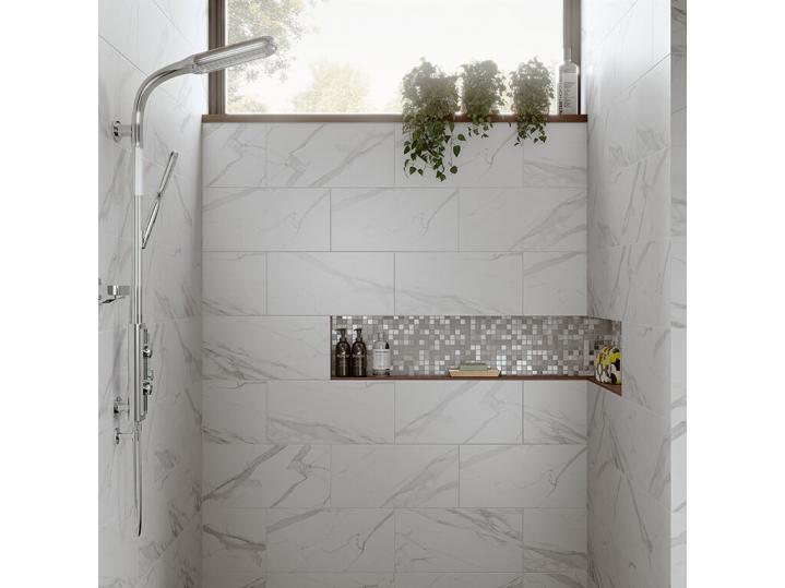Luni Bianco Glazed Porcelain W&F 600x300mm image