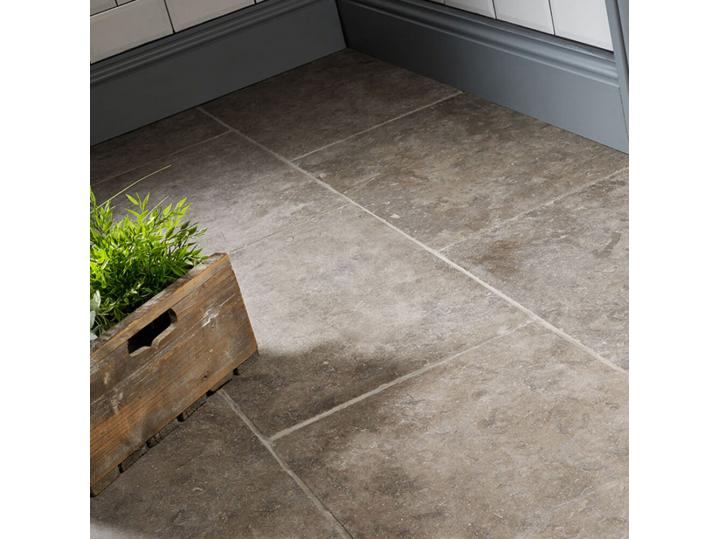 Falconara Brown Tumbled Limestone W&F 400x700mm image