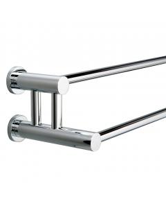 Montana Double Towel Rail 650mm