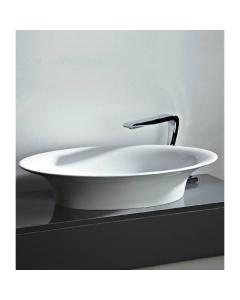 Oval Counter Top Mineral Cast Basin
