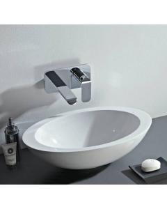OVAL COUNTER TOP MINERAL CAST BASIN (no overflow)