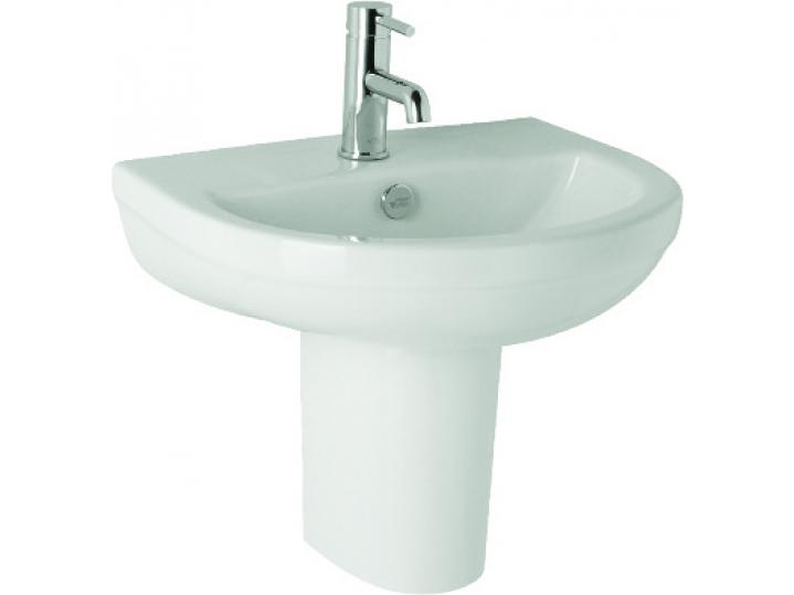 Revive 570mm 1th Basin and Semi Pedestal image