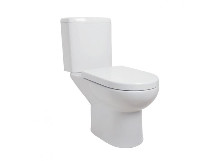Woburn WC Pan, Cistern & Premium Soft Close Seat image