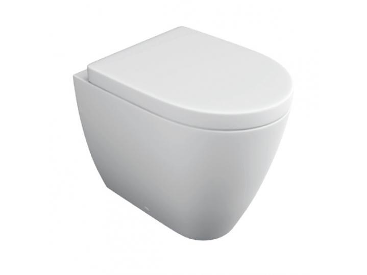 Genoa Back to Wall WC Pan & Soft Close Seat image