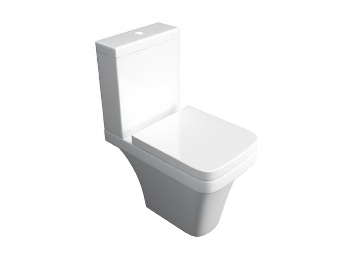 Sicily WC Pan, Cistern & Soft Close Seat image