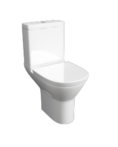 Project Round WC pan, Cistern & Soft Close Seat