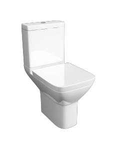 Project Square WC pan, Cistern & Soft Close Seat