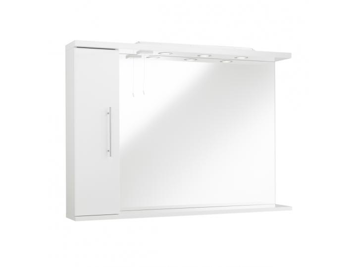 Impakt Mirror with Side Cabinet & Lights (Right Hand) image